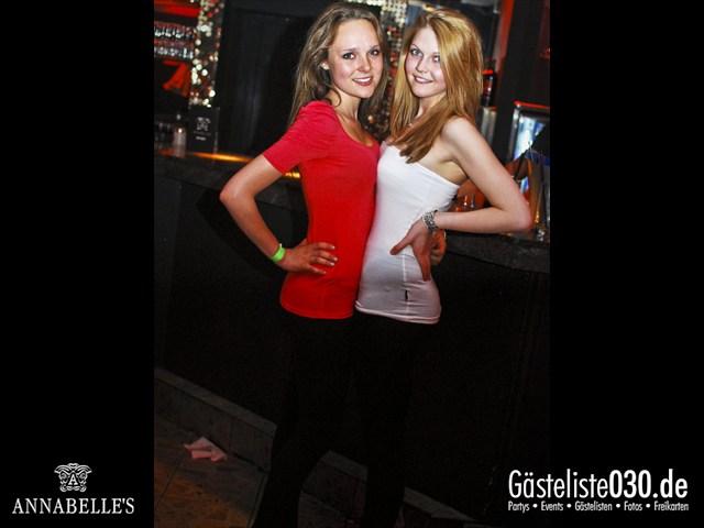 https://www.gaesteliste030.de/Partyfoto #82 Annabelle's Berlin vom 13.04.2012