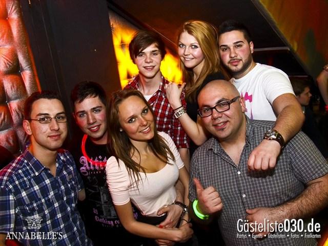 https://www.gaesteliste030.de/Partyfoto #125 Annabelle's Berlin vom 10.04.2012