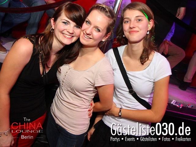https://www.gaesteliste030.de/Partyfoto #1 China Lounge Berlin vom 09.12.2011