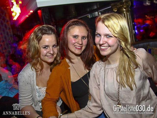 https://www.gaesteliste030.de/Partyfoto #97 Annabelle's Berlin vom 11.04.2012