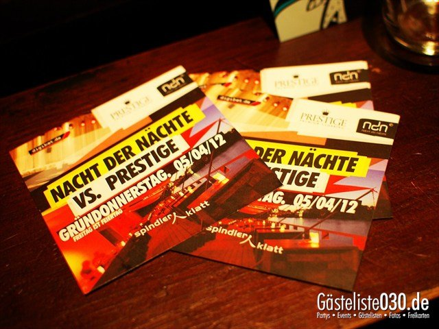 https://www.gaesteliste030.de/Partyfoto #26 Spindler & Klatt Berlin vom 31.03.2012