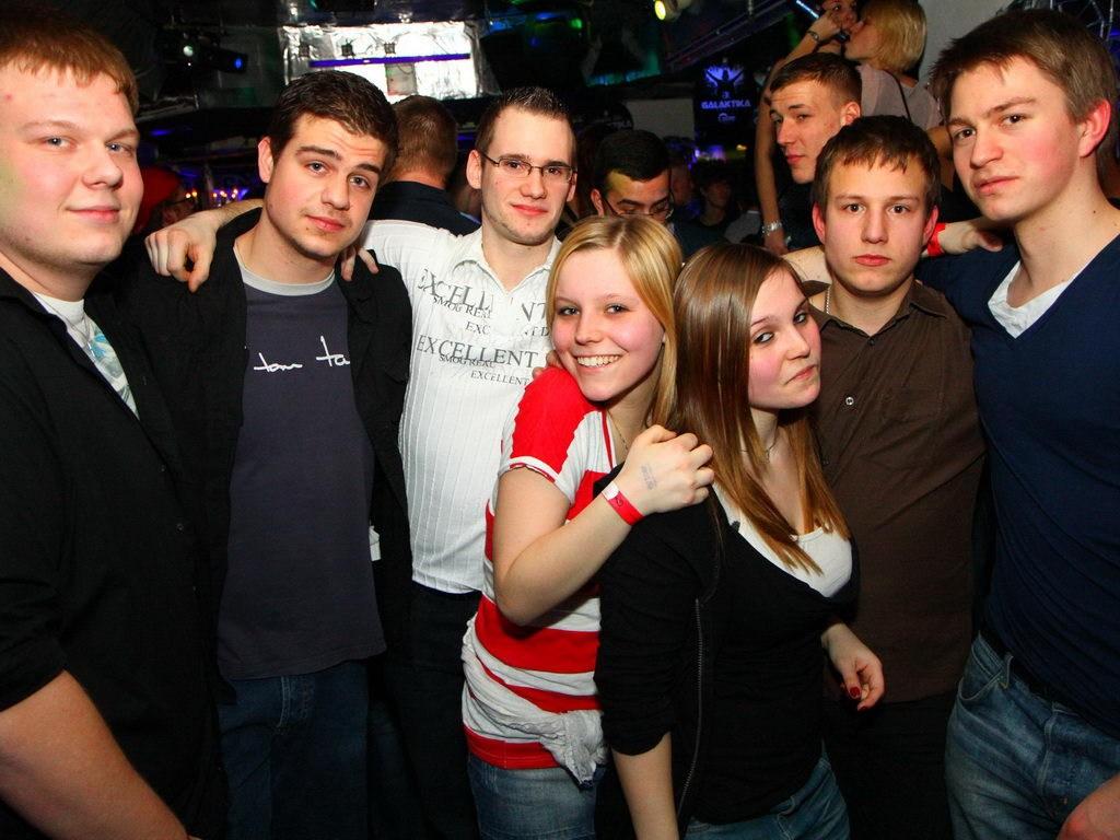 Partyfoto #75 Q-Dorf 28.01.2012 Galaktika