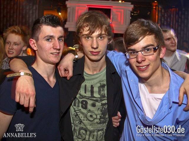 https://www.gaesteliste030.de/Partyfoto #85 Annabelle's Berlin vom 11.04.2012