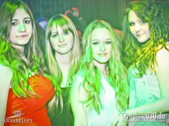 https://www.gaesteliste030.de/Partyfoto #32 Annabelle's Berlin vom 13.04.2012