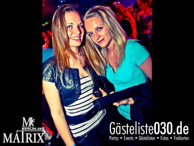 https://www.gaesteliste030.de/Partyfoto #40 Matrix Berlin vom 12.04.2012