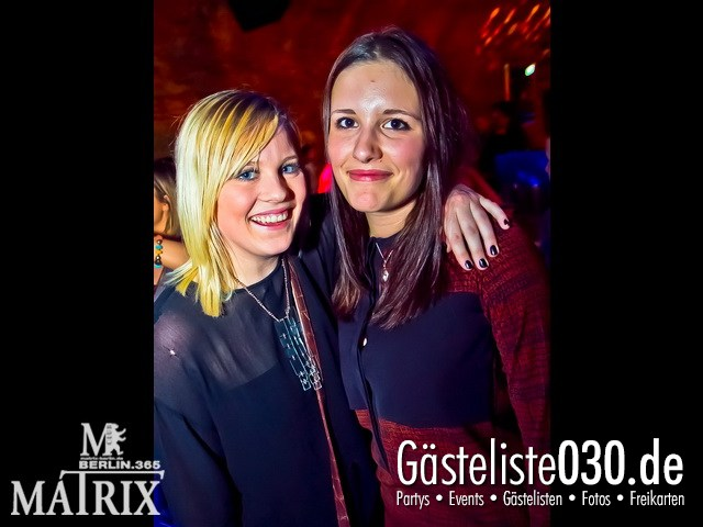 https://www.gaesteliste030.de/Partyfoto #88 Matrix Berlin vom 13.01.2012