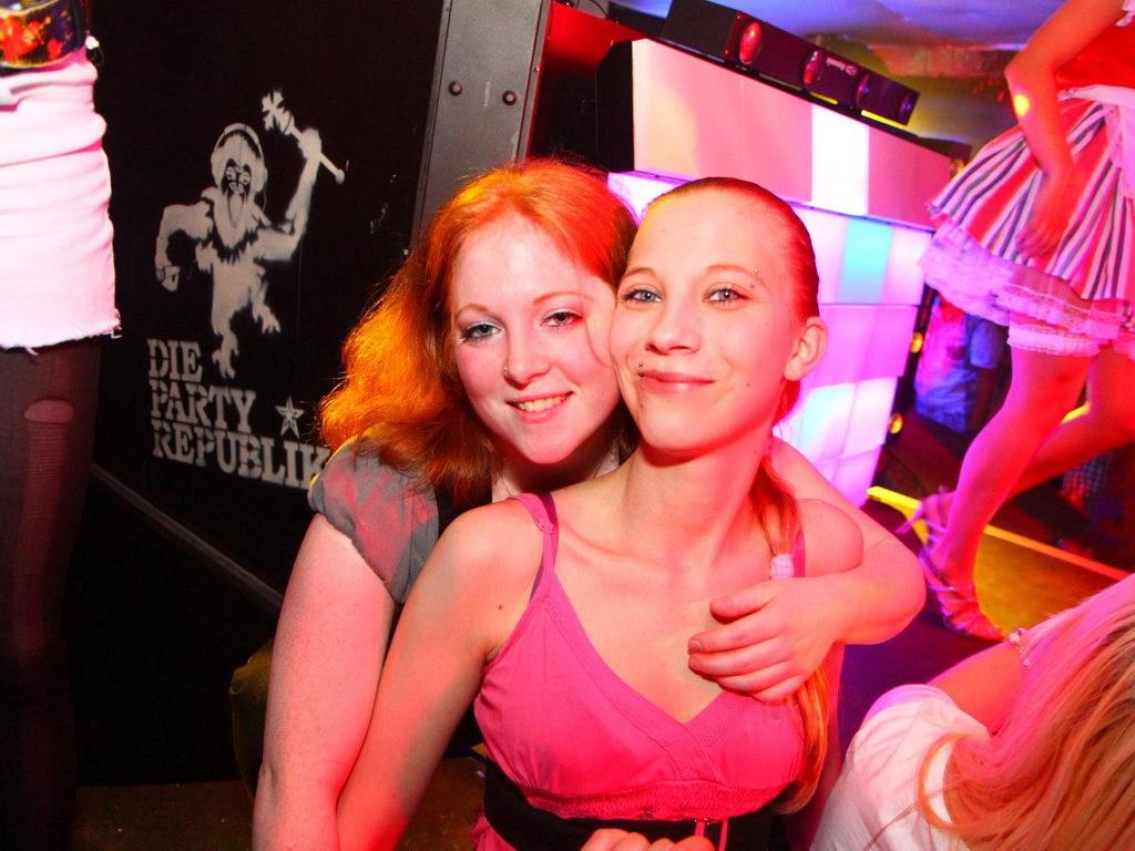 Partyfoto #50 Q-Dorf 20.01.2012 Baby