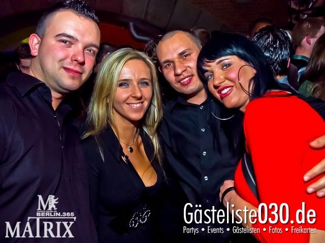 https://www.gaesteliste030.de/Partyfoto #35 Matrix Berlin vom 10.12.2011