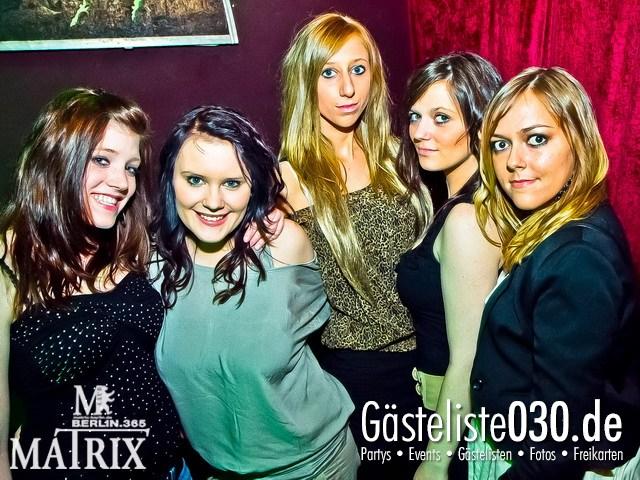 https://www.gaesteliste030.de/Partyfoto #63 Matrix Berlin vom 29.03.2012