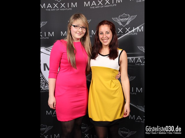 https://www.gaesteliste030.de/Partyfoto #3 Maxxim Berlin vom 30.03.2012