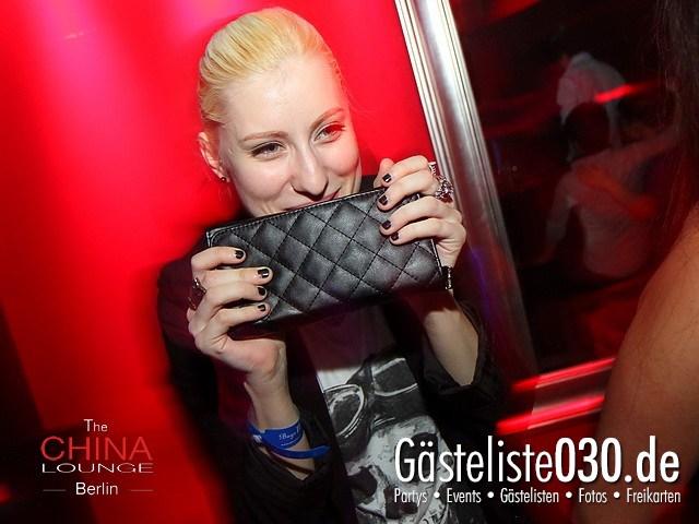 https://www.gaesteliste030.de/Partyfoto #6 China Lounge Berlin vom 13.01.2012