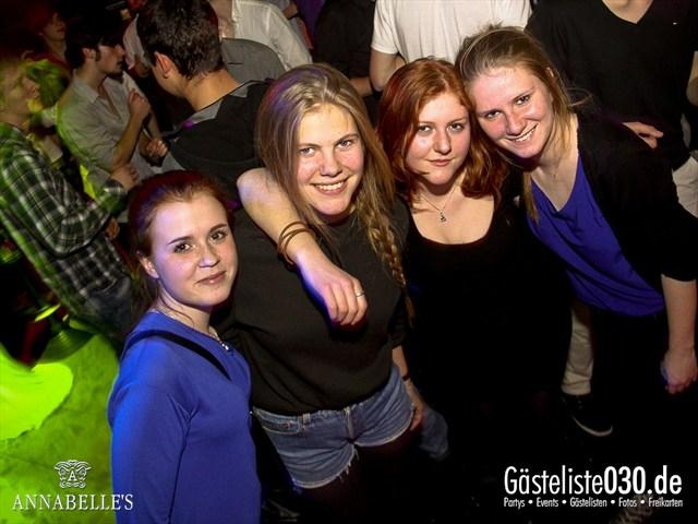 https://www.gaesteliste030.de/Partyfoto #49 Annabelle's Berlin vom 09.04.2012