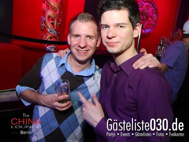 https://www.gaesteliste030.de/Partyfoto #20 China Lounge Berlin vom 13.01.2012