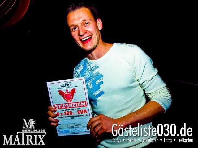 https://www.gaesteliste030.de/Partyfoto #4 Matrix Berlin vom 12.04.2012