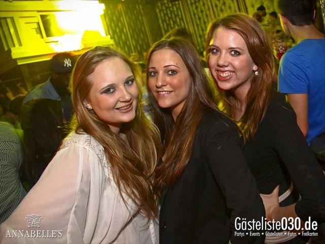 https://www.gaesteliste030.de/Partyfoto #117 Annabelle's Berlin vom 11.04.2012